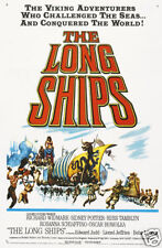 The long ships Richard Widmark vintage movie poster