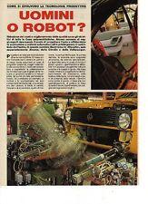 W24 Ritaglio Clipping 1986 Uomini o robot? Come si evolvono le tecnologie
