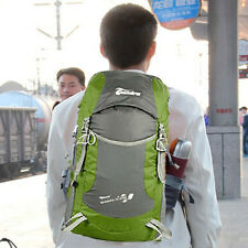 Green Outdoor Sport Folding Bag 35L Camp Travel Hiking Climb-Mountain Backpack