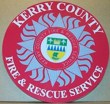 Irish Fire and Rescue Service Kerry County vinyl sticker personalised..