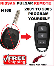 NISSAN PULSAR REMOTE KEYLESS ENTRY FOB 2001 2002 2003 2004 2005 N16E OLD PULSAR-