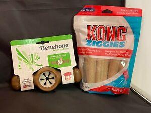 Chew bone Small Benebone Flavored  & KONG Ziggies