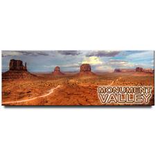 Monument Valley panoramic fridge magnet Utah Arizona travel souvenir