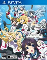 Used PS Vita IS -Infinite Stratos- 2 Ignition Hearts Normal Edition Japan Import