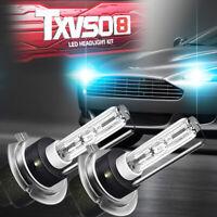 2PCS H7 Hid Xenon Headlight Bulbs Kit Metal Base 5000K 6000K 8000K 35W Lamp Bulb