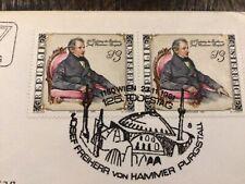 Stamps Austria, 1981, Fdc Sc# 1734 Baron Joseph of Hammer
