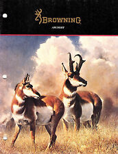 Browning Archery Vintage 1989 Catalog Bows Crossbows Accessories Clothing Boots