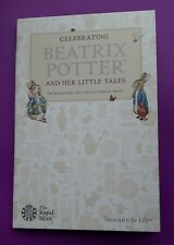 2017 ROYAL MINT - BEATRIX POTTER 50p FIFTY PENCE COIN COLLECTOR ALBUM PACK