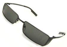 cK Calvin Klein Sunglasses 2042-118, Satin Gunmetal, Gray Lenses/Flash, Nice!