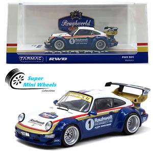 Tarmac Works 1:43 Porsche RWB 964 Waikato #1 (White/Blue)