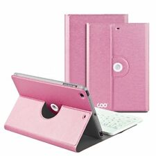 NEW Wireless Removable Bluetooth Keyboard Case for iPad Mini 1/2/3 - Rose Red