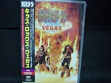 KISS Rocks Vegas JAPAN DVD Wicked Lester Badlands Black 'N' Blue ESP