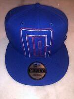 Los Angeles Clippers Snapback New Era Hat Cap Blue Nba Basketball Msrp $36 Light