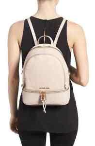 MICHAEL MICHAEL KORS Rhea Leather Backpack Soft Pink