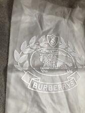Genuine Burberry Transparent Plastic Tote Shoulder Shopper Bag Vip Gift Trench