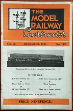 The Model Railway Constructor Vol. 11, No. 129, December 1944