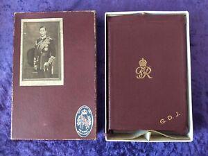 Beautiful original 1937 King George VI Coronation bible