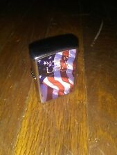 2010 Zippo Cigarette Lighter Made In USA American Flag Bradford PA Made In USA