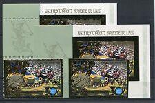 Laos 411 A + B Block 61 A + B postfrisch / Weltraum .......................1/519