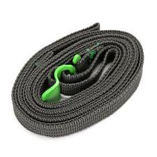 Green Luggage Travel Bungee Rope Cord Strap Steel Hooks Tie Car Bike Van Belt
