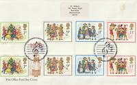 22 NOVEMBER 1978 CHRISTMAS IN GUTTER P POST OFFICE FIRST DAY COVER BETHLEHEM SHS