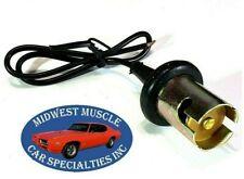 GM Park Tail Stop Turn Signal Side Light Lamp Bulb Wiring Harness Socket D54