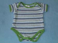 Baby Club Cute Little Boys Striped Romper, Size 000