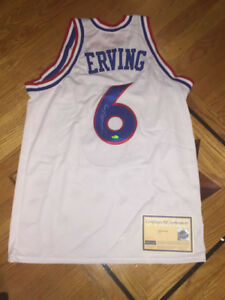 RARE Julius Dr J. Erving Signed Autographed 76ers Jersey Steiner Authentic UDA