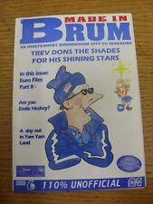 23/09/2000 Fanzine: Birmingham City - Made In Brum - Issue 006 v Tranmere Rovers