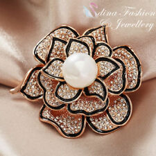 Pearl Rose Gold Diamond (Imitation) Fashion Jewellery