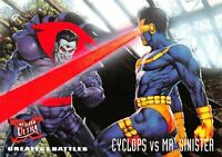 CYCLOPS VS. MR. SINISTER / X-Men Fleer Ultra 1995 BASE Trading Card #131