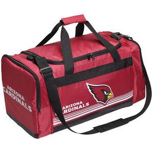 Arizona Cardinals Medium Striped Duffle Bag Core