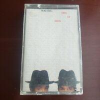RUN DMC KING OF ROCK audio CASSETTE TAPE 1985 PROFILE RECORDS vintage hip hop