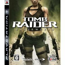 Used PS3 Tomb Raider Underworld Japan Import