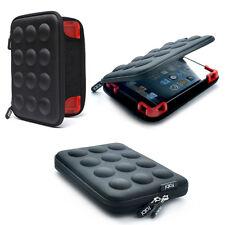 "Apple 7"" iPad Mini 4/3/2 Hard Padded Carry Case Protective Sleeve Bag Black"
