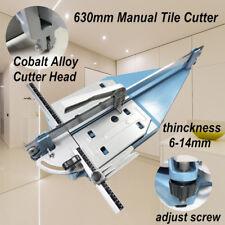 Heavy Duty 630MM Manual Tile Cutter Ceramic Porcelain Cutting Machine Home AU
