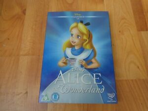 DISNEY CLASSICS NUMBER 13 ALICE IN WONDERLAND DVD LIMITED EDITION O RING SLEEVE