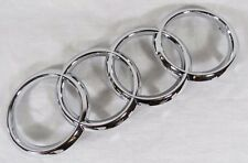 AUDI GRILLE EMBLEM 14-16 A3/13-16 A4/10-15 A5 FRONT GRILL OEM CHROME RINGS BADGE