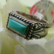 Turquoise Ring Carolyn Pollack-Relios-7.2 grams- Size 7