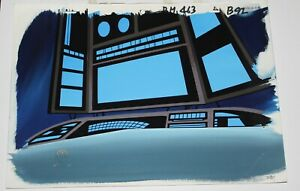 Original production background  - Batman Beyond