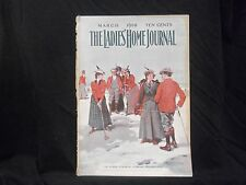 1900 MARCH LADIES' HOME JOURNAL MAGAZINE - GREAT ILLUSTRATIONS & ADS - ST 1600