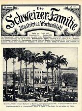 Pernambuco Brasilien Schönster Stadtgarten in Erinnerung an die...Stadthaus 1909