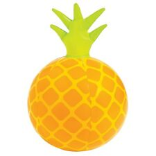 INFLATABLE BLOW UP 28CM PINEAPPLE BEACH BALL HAWAIIAN JUNGLE PARTY DECORATION