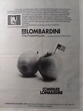Lombardini Diesel Engine Specifications Manual 1 2 3 4 Cyl Air Cooled 1979