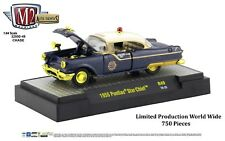 1:64 M2 Machines *AUTO-THENTICS R49* CHASE CAR 1955 Pontiac Star Chief POLICE