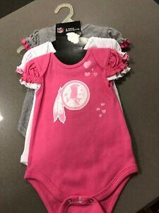 WASHINGTON Redskins BABY ONZY SET PINK COLOR/MULTICOLOR