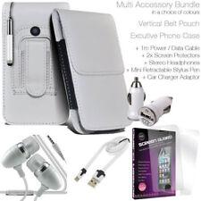 Cover e custodie pelle sintetici bianchi modello Per Huawei Y3 per cellulari e palmari