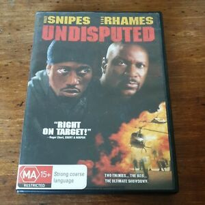 Undisputed DVD R4 Like New! FREE POST