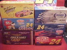 #24 JEFF GORDON 1/24 BRICKYARD NASCAR RACERS MULTIPLE (6) SIX 1/2 CASE CAR LOT