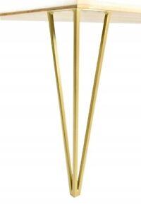 4x Tischgestell GOLD Handgemachte  Tischbeine Tischuntergestell Haarnadel  DiY